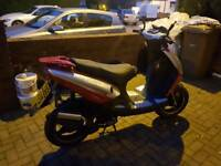 Johnway Moped 50 cc registered 2015