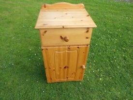 Lovely Pine Unit With Storage