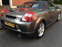 2005 Toyota MR2 - mk3 Limited Edition,TTE, Gunmetal Grey, Leather, Hardtop,FSH
