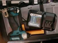 Makita impact driver 10.8v 2ah batt and charger