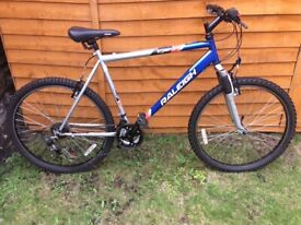 RALEIGH STONEFLY FRONT SUSPENSION MOUNTAIN BIKE SHIMANO RAPID GEARS !!
