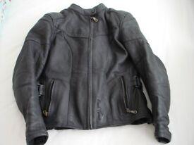 Ladies Motorcycle Jacket Size 10