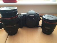 Full canon 7d with extras