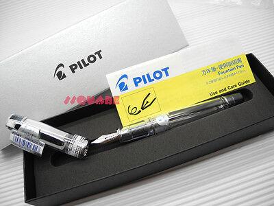 Tracking No. Pilot Fprn-350r Prera Medium Fountain Pen 6 Cartridges Black