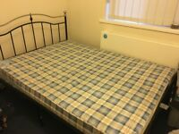 Double Bed Frame (Ex Condition)