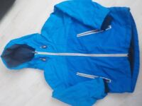 Boys Blue Coat from Next Age 6 Years in Good Condition - Collect PE27