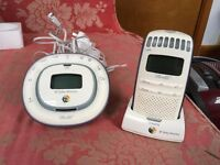 BT baby monitor £10 (£40 new)