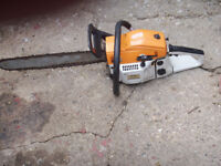 for sale 2 chaine saws