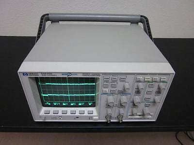 Hp Agilent 54645d 2 Channel 100mhz 200msas Mixed Signal Oscilloscope