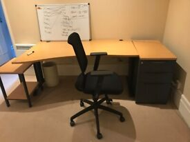 FREE Office Desk with Side Drawers