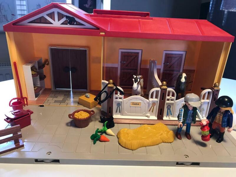 Playmobil portable horse stables  for sale  Norwich, Norfolk