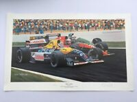 Colin Carter Formula 1 Print Three's A Crowd Number 183/350