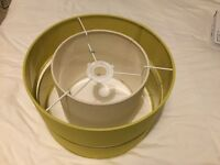 Dunelm Frea Pendant Light Shade - Olive Green (2 available)