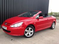 2004 Peugeot 307 CC 2.0 16v 2dr Convertible 4 Seats 12 Months MOT 28 Days Warranty May Px