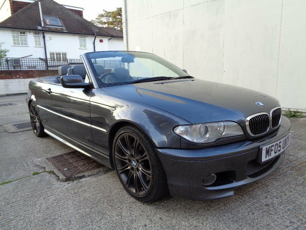 BMW 3 Series bmw 3 series convertible 2005 BMW 3 SERIES CONVERTIBLE 330i FACTORY M SPORT, 2 KEYS , FULL ...