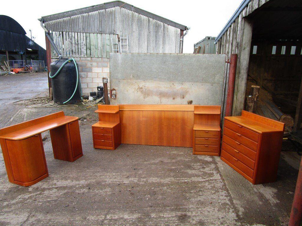 Mid Century Bedroom Set Bedroom Furniture Bedroom 1950 39 S 1960 39 S 1970 39 S Hulsta In Knutsford
