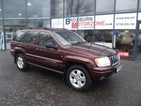 2001 Y JEEP GRAND CHEROKEE 4.7 V8 LIMITED 5d 220 BHP MOT MAY 2017 **** GUARANTEED FINANCE ****