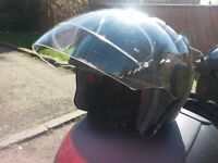 Motorcycle Helmet with FREE Pinlock™ Visor and Face Mask