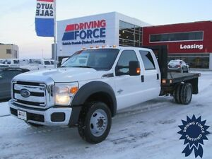 2013 Ford Super Duty F-550 DRW XLT Crew Cab 4x4 - 41,000 KMs