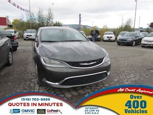2016 Chrysler 200 Limited   ONE OWNER   HEATED SEATS   SAT RADIO