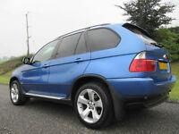 2004 54 BMW X5 3.0D SPORT INDIVIDUAL FACELIFT 116K MINT LOADED FULL HISTORY FSH