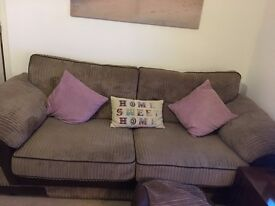 SCS 3 seater Large Sofa and Large Chair