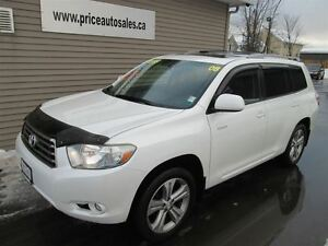2008 Toyota Highlander SPORT-HEATED LEATHER-SUNROOF-REMOTE START