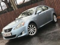 **DIESEL** LEXUS IS220 TD LEATHER INTERIOR HEATED SEATS LONG MOT