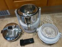 WARING Professional Juice Extractor with Citrus Extractor Excellent Condition RRP £443 Juicer Blend