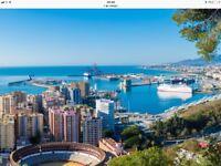 Return flights From Gatwick London to Malaga ...23rd jul 18 to the 27th jul 18