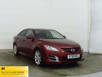 2009 59 MAZDA 6 1.8 TS 4d 120 BHP FULL SERVICE RECORDS 6 MONTHS WARRANTY BREAKDOWN COVER & RECOVERY