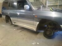 Pajero breaking for parts 3.5 gdi auto