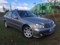 Mercedes-Benz C180 Kompressor Only 62k miles, Sattelite Navigation, Full Service History Good Tyres