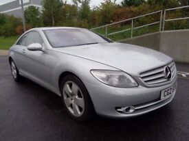 2007 MERCEDES CL 500 AUTOMATIC PETROL, 1 OWNER FROM NEW , FSH, SUNROOF