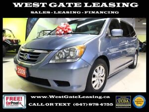 2009 Honda Odyssey EX-L | LEATHER | 8 PASS SEATING | REAR CAMERA