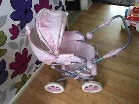 Baby Annabelle deluxe Pram/pushchair