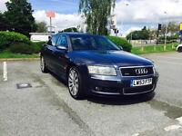 2004 Audi A8 4.0 TDI 340HP Quattro 4dr Automatic HPI Clear Low Mileage Remapped 340HP Long MOT