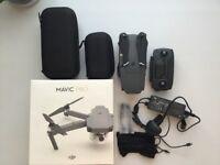 DJI MAVIC PRO DRONE - NEARLY NEW