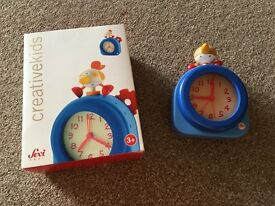 Childrens Alarm Clock Wooden - lovely item - listed under toys, but is an actual alarm clock