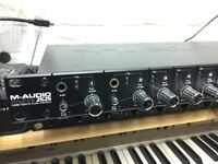 M Audio Profire 2626 Firewire 400 Professional Audio Interface, Win10, macOS Sierra