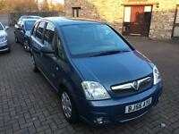 Vauxhall Meriva with only 51,000 miles, 2 lady owners from new with a brand new MOT