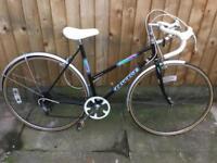 "21"" vintage Peugeot bike"
