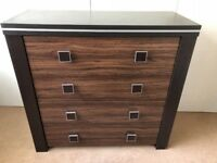 Sideboard 4 drawers storage + 1 Drawer Tv Unit