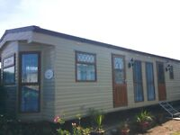 Excellent static caravan in beautiful condition