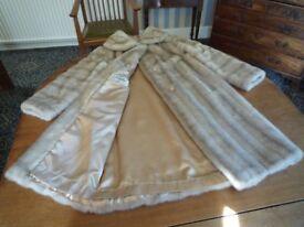 Vintage Astraka Fur Coat - size18