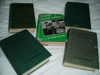 Anne of Green Gables Books by LM Montgomery - Set of 5