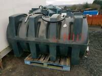 Titan 1800 litre diesel storage tank with filling hose ,nozzle and filter tractor digger etc