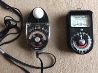 Vintage Light Metres