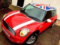 **..£20 TAX..** 2009 MINI COOPER D RED 1.6 TURBO DIESEL 3 DOOR HATCH WHITE