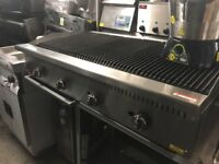 CATERING COMMERCIAL KITCHEN NEW 4 FEET FLAME CHAR GRILL FAST FOOD RESTAURANT PERI PERI CHICKEN SHOP